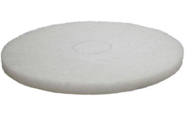 White Polishing Pad 16 inch x 25mm thick