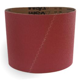 Red Ceramic sanding belt for sanding machine
